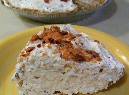 Butterfinger Pie Recipe