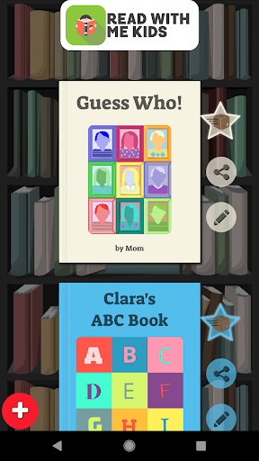 Read With Me Kids - Make Personalized Books 2.4.7 screenshots 1