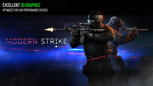 Modern Strike Online - FPS Shooting games free screenshot 2