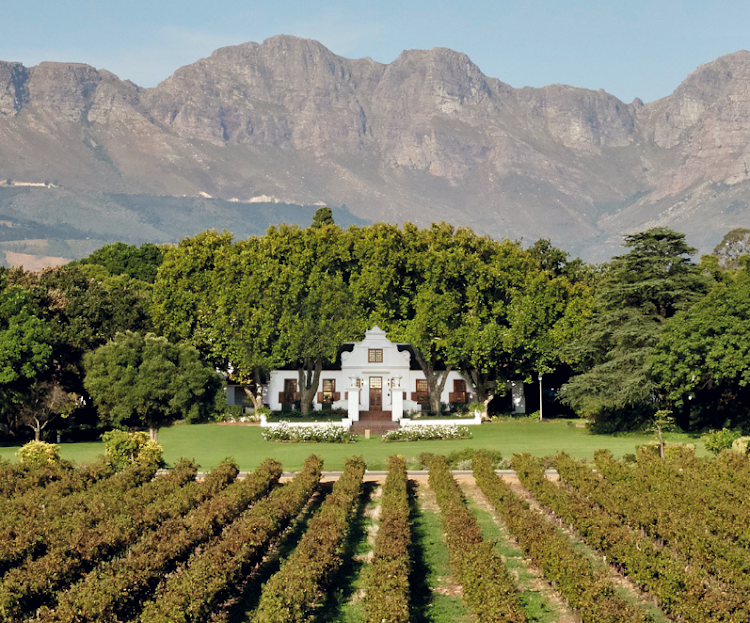 See it for yourself: the Nederburg manor house