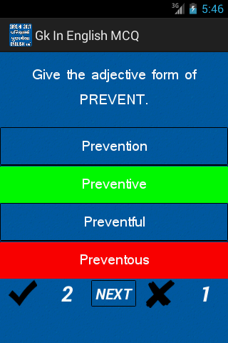 Gk In English MCQ – (Android Apps) — AppAgg