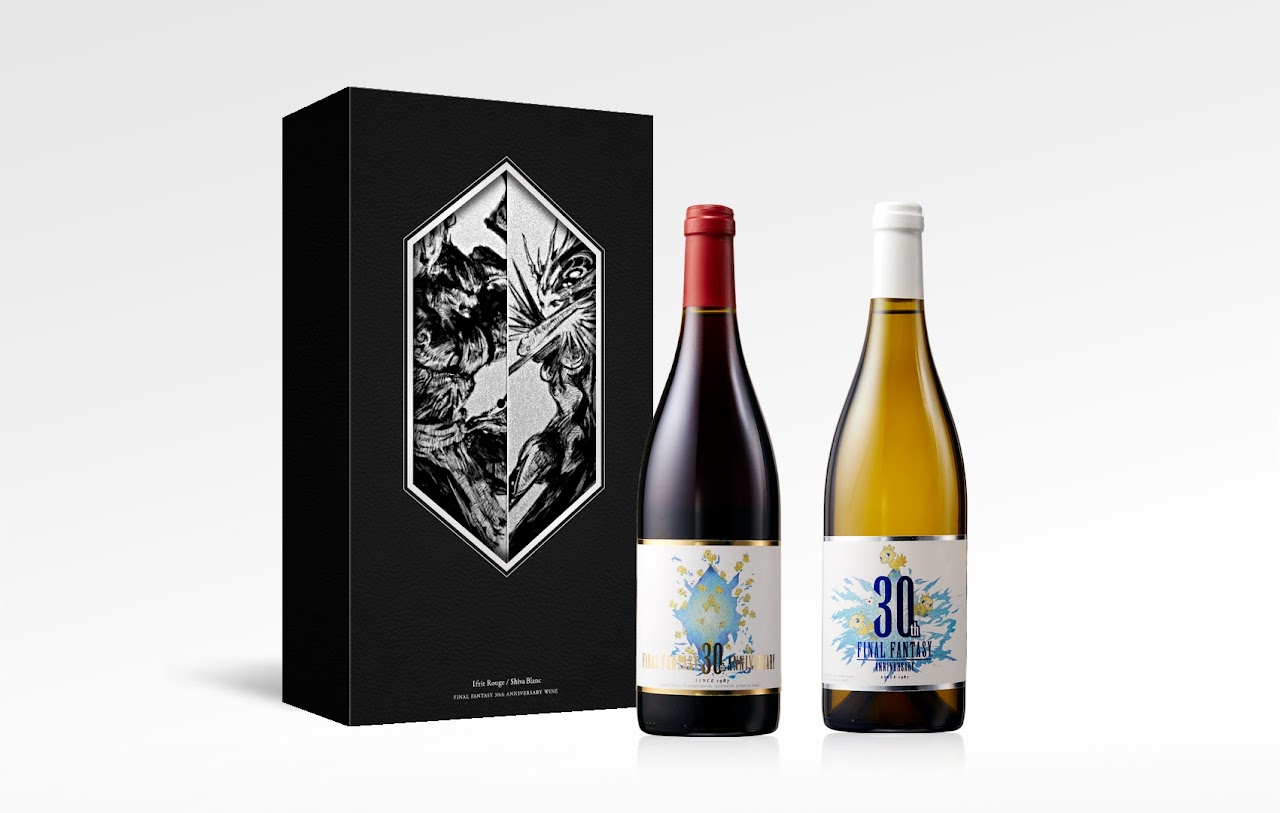 พรีเมียมไวน์ฉลองครบรอบ 30 ปีเกม Final Fantasy!