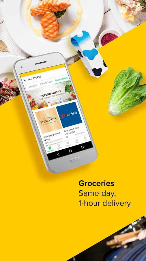 honestbee: Grocery delivery & Food delivery- screenshot
