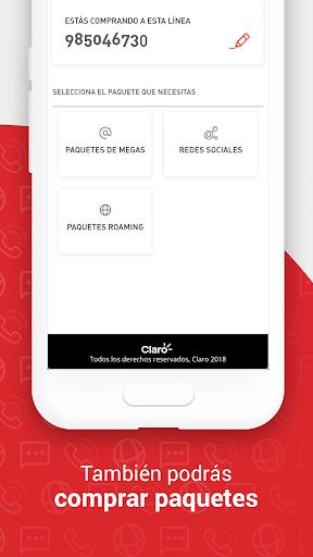 Mi Claro Peru00fa 4.0.1 screenshots 4