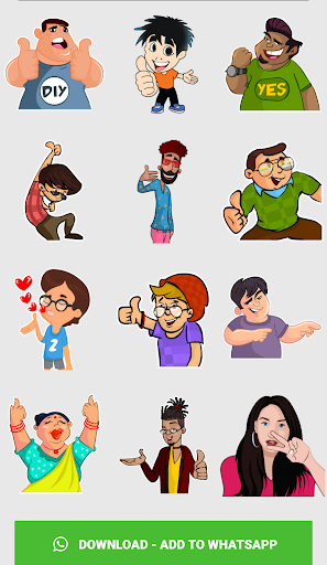 Stickers For Chat - Third Party WAStickerApps sgn_Jan14_2019 screenshots 6