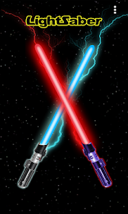 Lightsaber Battle Simulator - náhled