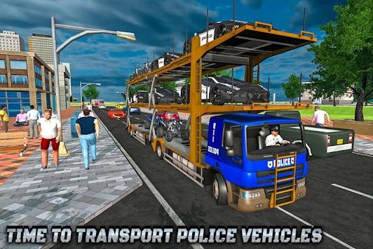 Police ATV Bike & Car Plane Transport Truck Game apk screenshot