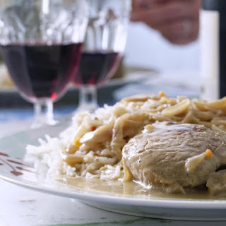 Onion-Smothered Pork Chops