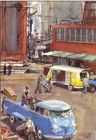 Transporter Skåp & Pickup vid lastning