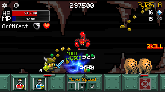 Buff Knight - RPG Runner Screenshot