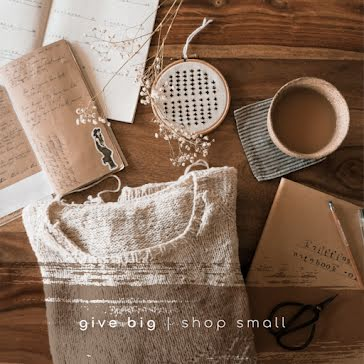 Give Big Shop Small - Instagram Post Template
