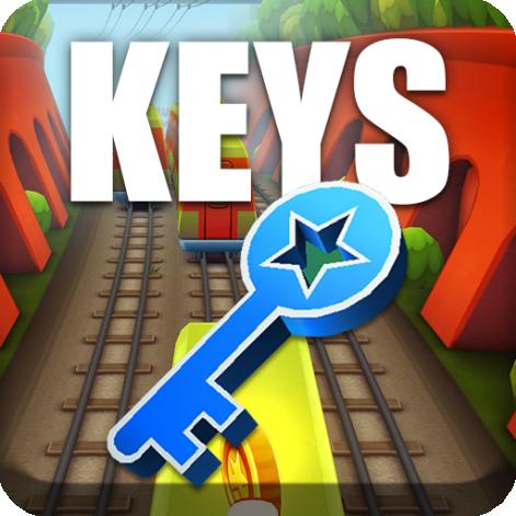 Keys for Subway Surfers