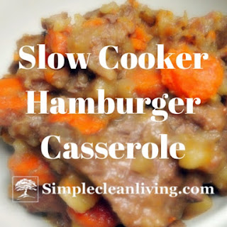 Slow Cooker Hamburger Potato Casserole