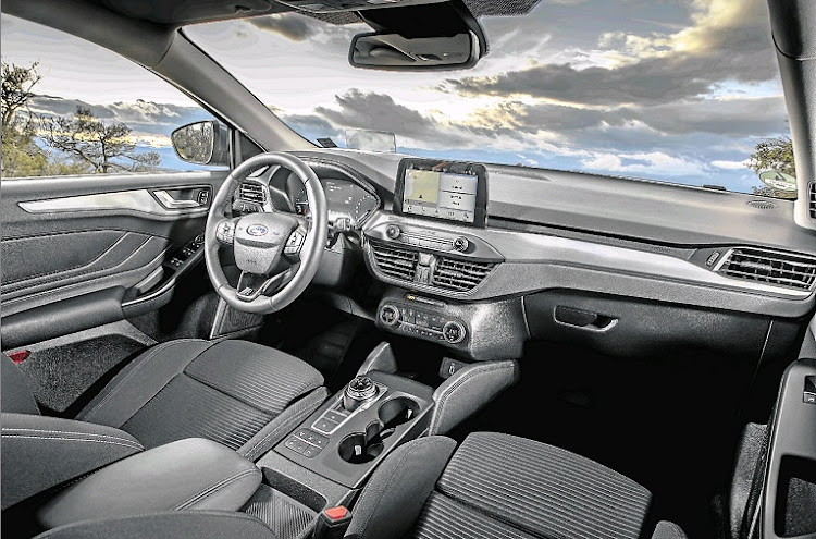 The interior features more technology and more space thanks to an increase in wheelbase.