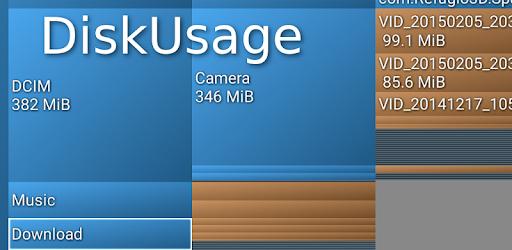 Sử dụng DiskUsage để phân tích lưu trữ hiệu quả