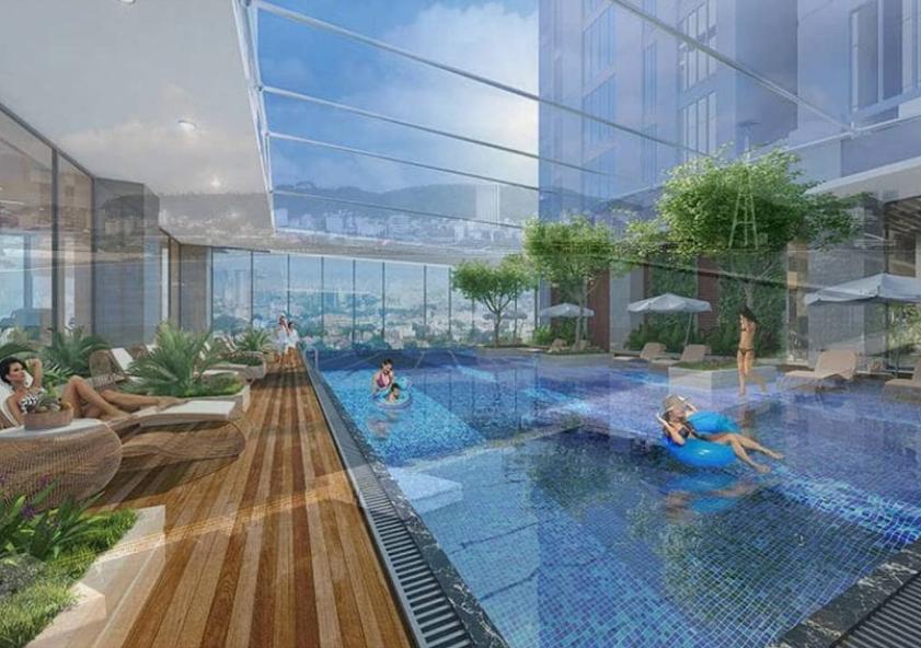 Dự án có bể bơi vô cực độc đáo và hấp dẫn