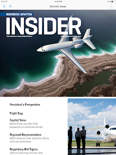 NBAA Business Aviation Insider- screenshot thumbnail