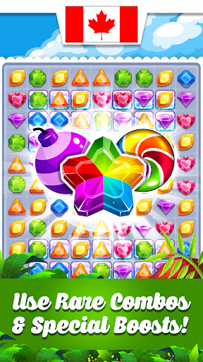 Addictive Gem Match Mania: Match 3 Games Free New  screenshots 1