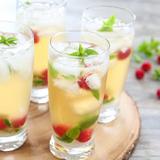 Iced Green Tea Mojitos