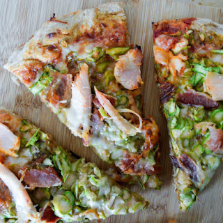 Asparagus, Bacon, and Turkey Pizza