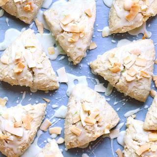 Coconut Cream Scones.