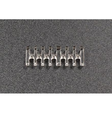 Kabelkam for 14 pins kabel, 2x7 Ø4mm spor, klar