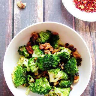 Roasted Broccoli With Walnuts Recipes