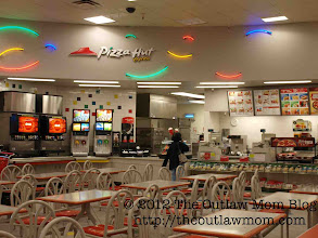 Photo: Of course, we couldn't make it past the food court.