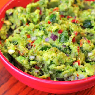 Grilled Guacamole with Sun Dried Tomatoes