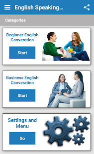 English Speaking Practice Screenshot