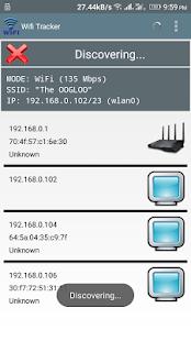 My WIFI Tracker - náhled