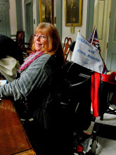 Photo: Daniese McMullin-Powell at Disability Day at Legislative Hall, 3.25.15