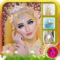 Hijab Wedding Photo Frames icon