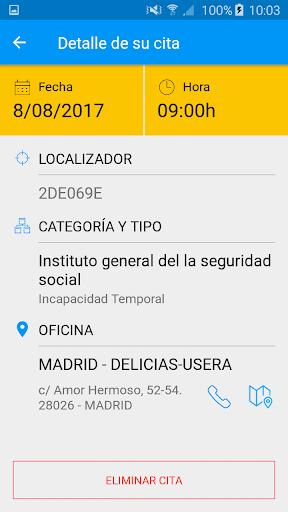 Seg-Social Seg. Social Móvil screenshot 4