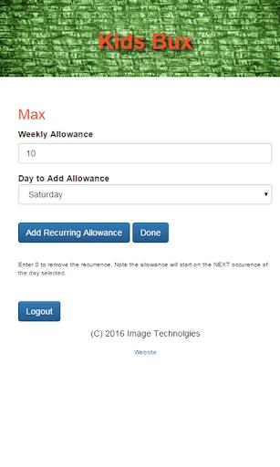 玩免費遊戲APP 下載KidsBux Allowance & Chores app不用錢 硬是要APP