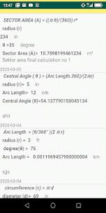 Circle Calculator 3