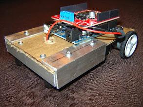 Photo: Cardboard-based prototype