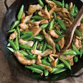 Chicken & Sugar Snap Pea Stir-Fry