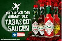 Angebot für TABASCO® Gewinnspiel im Supermarkt