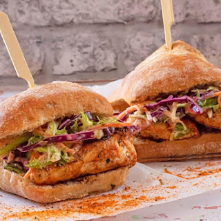 Cajun Chicken Burger Recipe