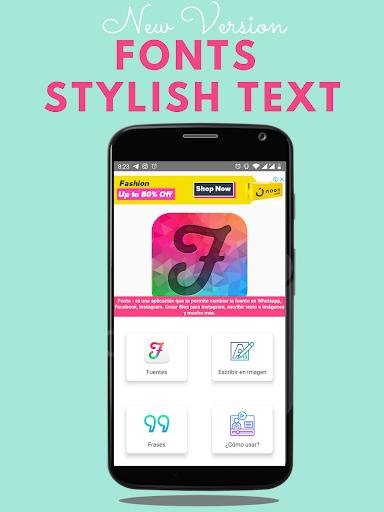 fonts - stylish text & cool fonts screenshot 1