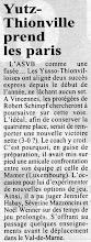 Photo: 25-01-97 N2F l'ASVB se teste à Mamer avant d'affronter Vincennes