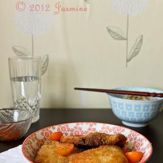 Chicken Katsu with Thai Sauce