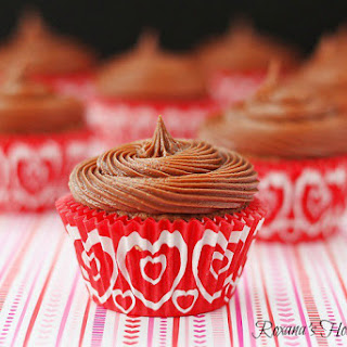 Nutella Cupcakes with Nutella Frosting Recipe