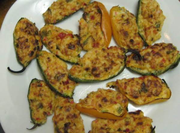 Crab Stuffed Jalapeno Poppers Recipe