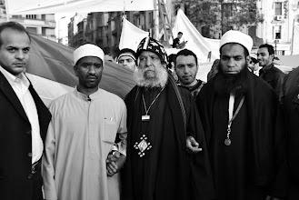 Photo: Christian and Muslim unity on display.