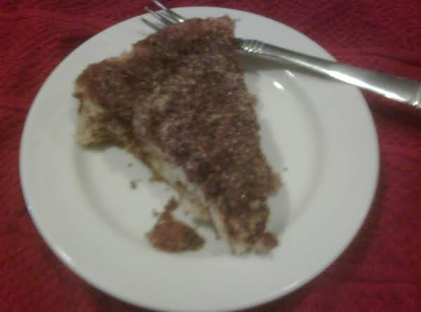 Fresh Rhubarb Cake Recipe