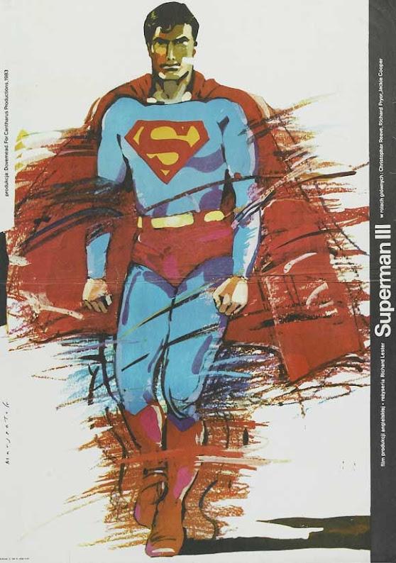 Polski plakat filmu Superman III