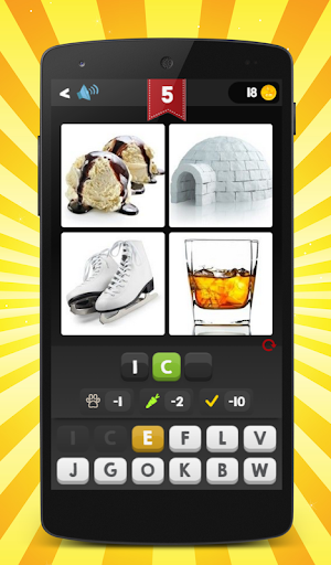 4 Pics 1 Word - Guess the word