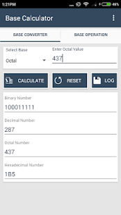 base converter calculator android apps on google play. Black Bedroom Furniture Sets. Home Design Ideas